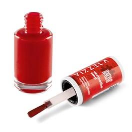 Esmalte Vizzela #NUNCASAIDEMODA 9 ml Vermelho Sim!