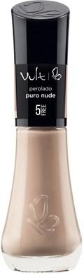 Esmalte Vult 5 Free Perolado 8 ml Puro Nude