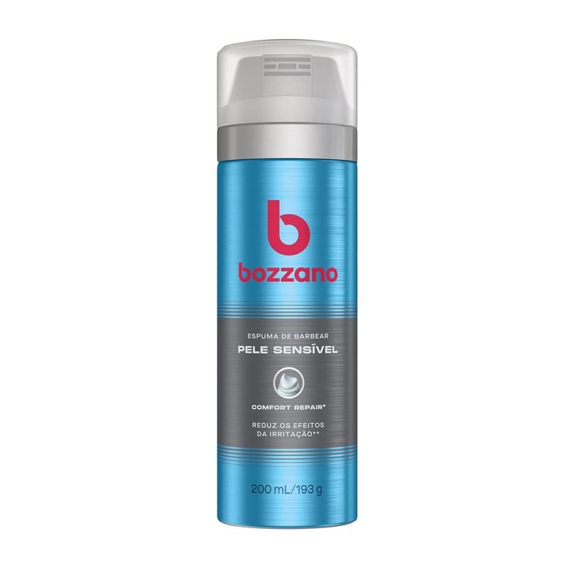 Espuma de Barbear Bozzano 190 gr Pele Sensível