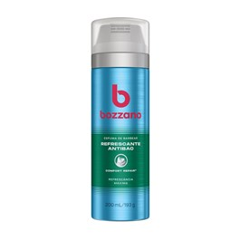 Espuma de Barbear Bozzano 200 ml Refrescante Antibac