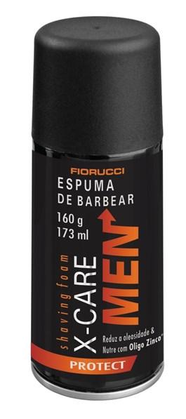 Espuma de Barbear Fiorucci X-Care Men 160 gr Protect