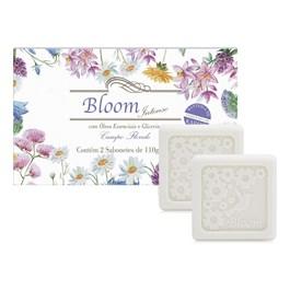 Estojo Bloom 2 Sabonetes 110 gr Campo Florido