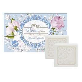 Estojo Bloom 2 Sabonetes 110 gr Flor da Manhã