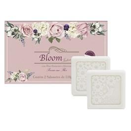 Estojo Bloom 2 Sabonetes 110 gr Poesia em Flor
