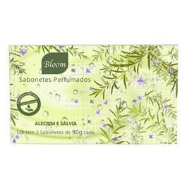 Estojo Bloom 2 Sabonetes 90 gr Alecrim e Sálvia