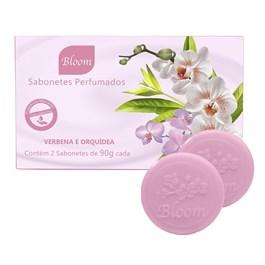 Estojo Bloom 2 Sabonetes 90 gr Verbena e Orquídea