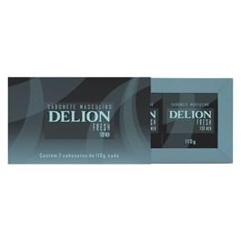Estojo Delion 2 Sabonetes 110 gr Fresh
