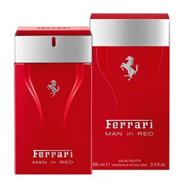 Ferrari Man in Red Masculino Eau de Toilette 100 ml