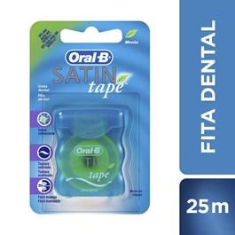 Fio Dental Oral-B Satin Tape Menta 25 M