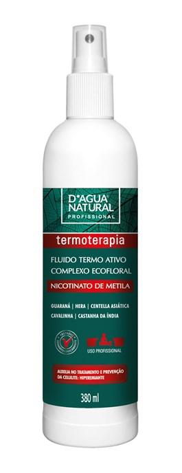 Fluido Termo Ativo D'Agua Natural 380 ml Complexo Ecofloral