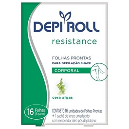 Folhas Prontas Corporal Depi Roll 16 unidades Resistance