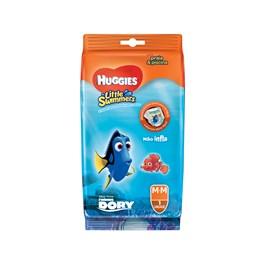 Fralda Infantil Huggies  Little Swimmers 1 unidade Media