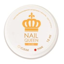 Gel Alongamento de Unha Nail Queen 15 ml Pink