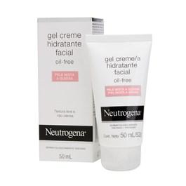 Gel Creme Hidratante Facial Neutrogena 50 ml Pele Mista a Oleosa