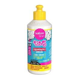 Gel Creme Salon Line #todecacho 300 ml Transição Capilar