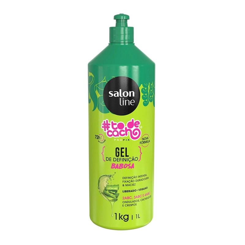 Gel de Definição Salon Line #todecacho 1 Litro Babosa