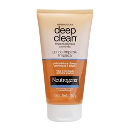 Gel de Limpeza Neutrogena Deep Clean 150g