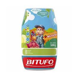 Gel Dental Bitufo Cocoricó 90 gr Sabor Morango