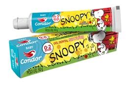 Gel Dental Condor Snoopy 50 gr Sabor Morango