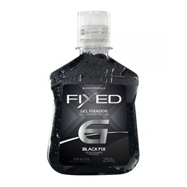 Gel Fixador Fixed 250 gr preto