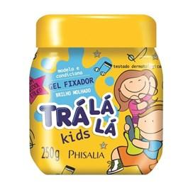 Gel Fixador Trá Lá Lá Kids 250 gr Brilho Molhado