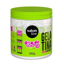 Gel Gelatina Salon Line 550 gr #todecacho com Fixac?o