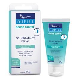 Gel Hidratante Facial Nupill 50 gr Derme Control