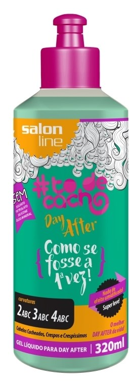 Gel Líquido Salon Line #todecacho 320 ml Day After