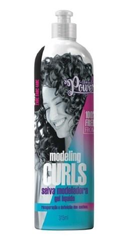 Gel Líquido Soul Power 315 ml Modeling Curls