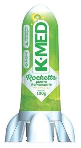 Gel Lubrificante K-Med Rocketts 100 gr Menta Refrescante