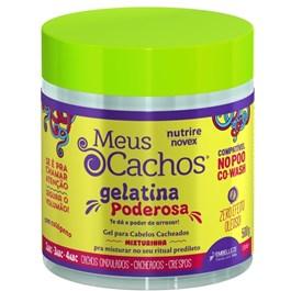 Gel Novex Meus Cachos 500 gr Gelatina Poderosa