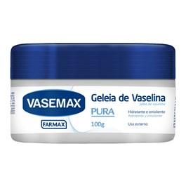 Geleia de Vaselina Vasemax 100 gr Pura