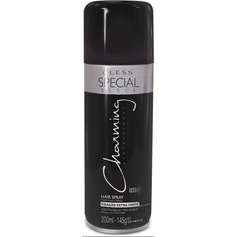 Hair Spray Fixador De Penteado Charming 200 ml Fixação Extra Forte
