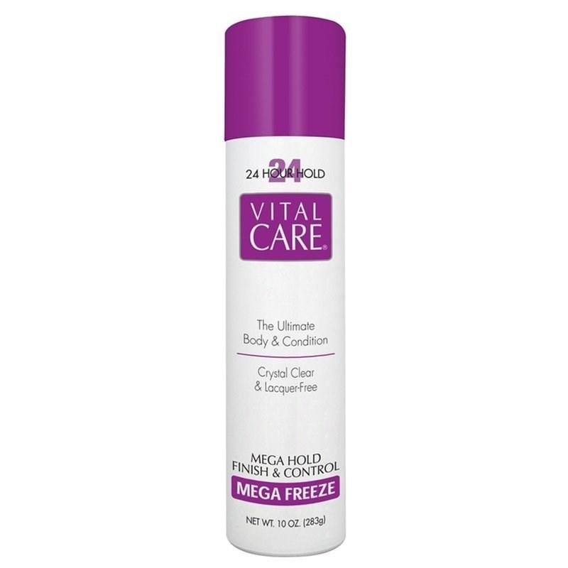Hair  Spray Vital Care 283 gr Mega Hold Finish e Control 24 Horas