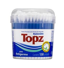 Hastes Flexíveis Topz Pote 150 unidades