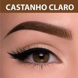 Henna Para Sobrancelha Pelo & Pele 2,5 gr Castanho Claro