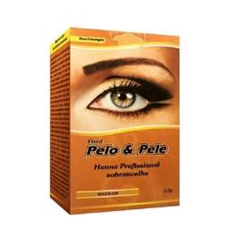 Henna Para Sobrancelha Pelo & Pele 2,5 gr Marrom