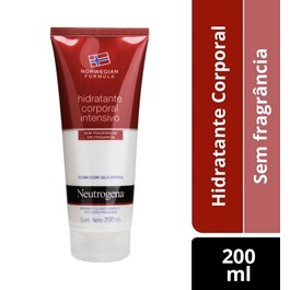 Hidratante Corporal Intensivo Neutrogena 200 ml Glicerina
