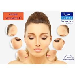 Hidratante Facial Antirrugas e Clareador Nupill 30 gr Vitamina C