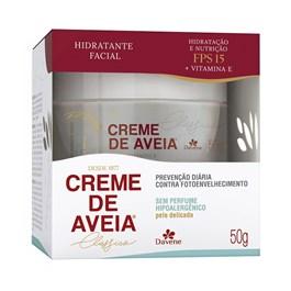 Hidratante Facial Davene Creme de Aveia 50 gr Hipoalergênico