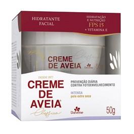 Hidratante Facial Davene Creme de Aveia 50 gr Intensa