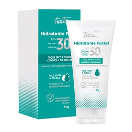 Hidratante Facial Tracta 50 gr FPS 30 Pele Mista a Oleosa