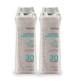 Kit Água Oxigenada Yamá Oxicreme 900 ml 30 Volumes