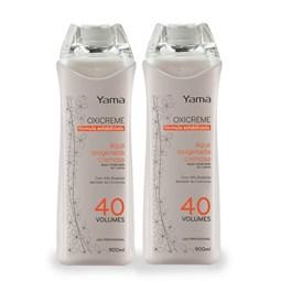 Kit Água Oxigenada Yamá Oxicreme 900 ml 40 Volumes