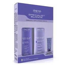 Kit Amend Specialist Blonde Shampoo + Condicionador + Grátis Mini Máscara