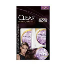 Kit Clear Shampoo + Condicionador 200 ml Cada Hidratação Intensa
