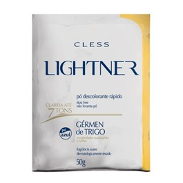 Kit Descolorante em Po Cless Lightner 50 gr Germen de Trigo