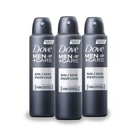 Kit Desodorante Aerosol Dove Men + Care 89 gr Sem Pefume Leve 03 Pague 02