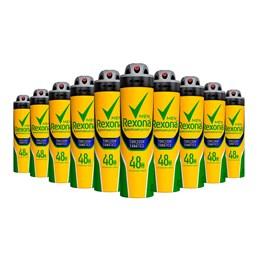 Kit Desodorante Aerosol Rexona 90 gr Erva Doce