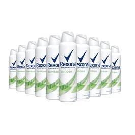 Kit Desodorante Aerosol Rexona Feminino 90 gr Bamboo Leve 03 Pague 02